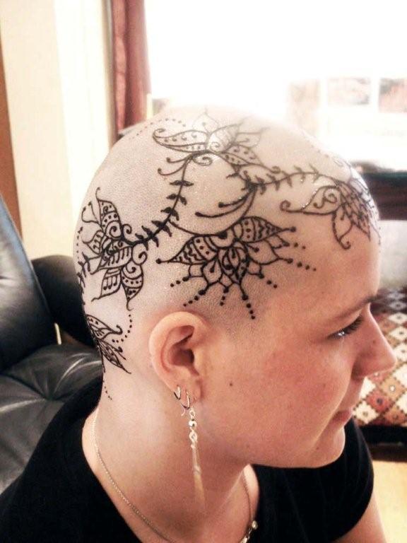 henna head